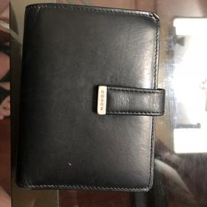 Vintage Coach Bifold Kisslock Wallet
